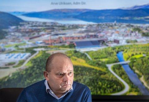 Arve Ulriksen, styreleder i Arctic Circle Data Center og daglig leder i Mo Industripark. Bildet er tatt ved en tidligere anledning.
