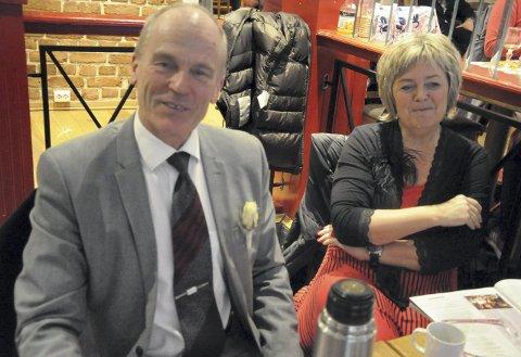 Werner og Helle Storskogen spiller brudens familie.