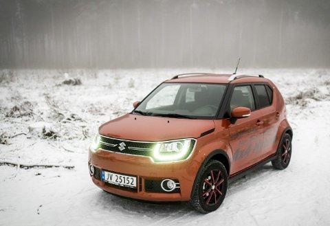 De har skapt en kul bil med den nye Ignisen, vi synes den friske fargen er perfekt til denne bilen.