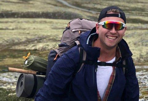 SJEFEN: Fredrik Byman er varehussjef for XXL Hønefoss. Han kommer fra stillingen som konstituert varehussjef på Jessheim. Foto: Privat