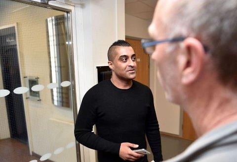 ALVORSPREGET: Tommy Sharif kan ikke svare for hvor det er blitt av regnskapene. Foto: Tommy H.S. Brakstad
