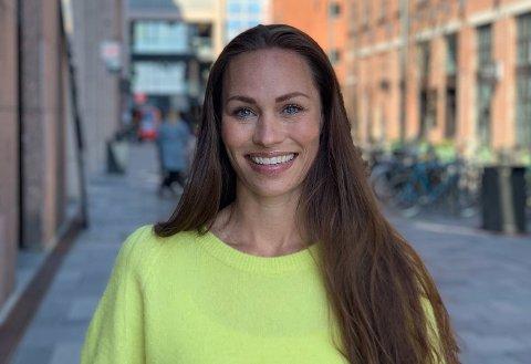 GLEDER SEG: Cecilie Tvetenstrand i Danske Bank gleder seg til påske, og mener nordmenn er økonomisk fornuftige i denne høytiden.Foto: Privat