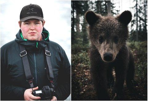 ANERKJENT FOTOGRAF: Stian Norum Herolfsen (23) gjør internasjonal karriere med bilder av villmark og rovdyr. FOTO: DANIELE LANGEDAL OG KENNETH SVENDSEN / STIAN NORUM HERLOFSEN