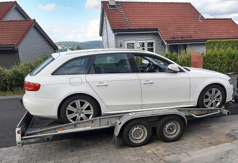 TAPTE 90.000 KRONER: Kjell Hobøl trodde det skulle bli en enkel sak å få dekket skadene på bilen. Det endte med at han selv ble stående ansvarlig og medførte et tap på 90.000 kroner.