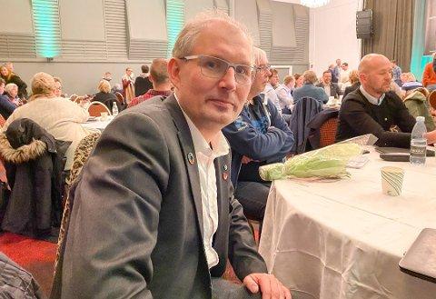 Fylkesordfører Terje Riis-Johansen er skuffet.