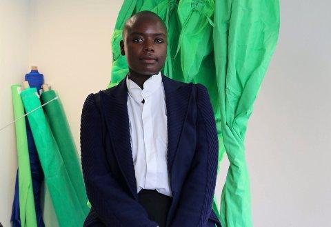 PRISVINNER: Sandra Mujinga er vinneren av kunstprisen til Sandefjord Kunstforening.