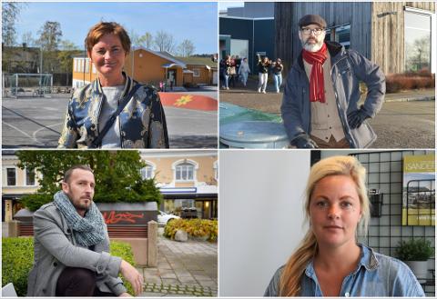 ØNSKER VIDEREFØRING: Anne Strømøy (H), Kjetil Olsen (AP), Thore Sebastian Nielsen (uavh.) og Camilla Bilstad Johannessen (V) ønsker alle å videreføre sommerskoletilbudet i 2022, men først må de finne ut hvor midlene skal hentes inn.