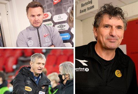 Bjørn «Bummen» Johansen (FFK), Lars Arne Nilsen (AAFK) og Jan Halvor Halvorsen (Bryne) tror alle på gjennomføring av sesongen.