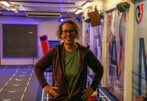 ENDRET LIVSSTIL: Elisabeth Lindberg (45) har gått ned fire klesstørrelser siden i fjor.