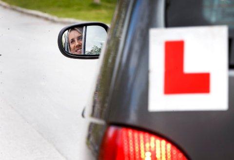 Veldig mange stryker flere ganger på førerprøven.
