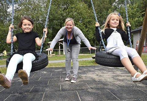 GLAD FOR TILSYN: Catrine Bjerke Bakker, seksjonsleder for barnehagene i Indre Østfold kommune ønsker tilsynet velkommen. Arkivfoto.
