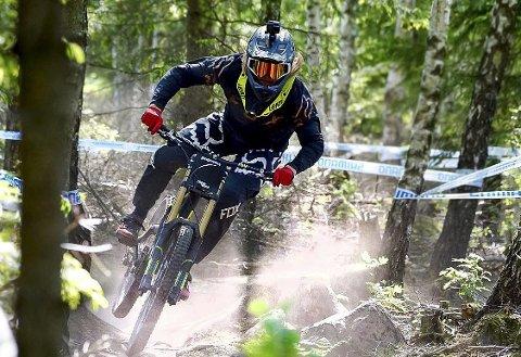 BEST: Brage Vestavik slo samtlige ryttere i skandinavisk cup i Sverige.