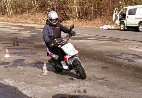 OPNAR OPP FOR MOTORSYKKELLAPPEN: Denne veka kan oppkøyringa starta att.