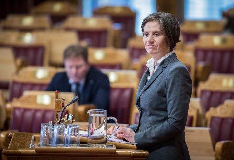 – Senterpartiet vil ha ein ny modell for finansiering av sjukehus, der ein skil investering og drift.  sier Kjersti Toppe, som er helsepolitisk talsperson for Senterpartiet.