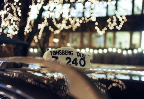 Tønsberg Taxi. Foto: Harald Strømnæs