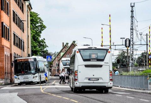 BUSS: Mange hundre passasjerer har fått bøter for å ikke ha betalt for seg på bussen.