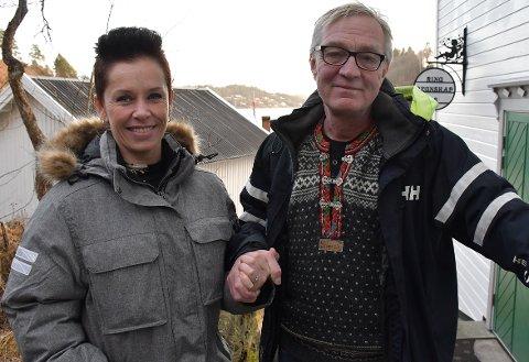 Utøya-veteranene Stine Rønbeck og Jens Ove Kristiansen.