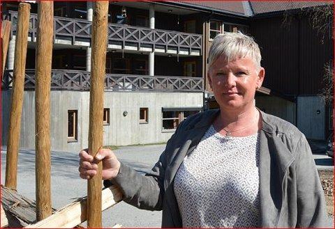 Koronamidlar: Laila Nereng kunne fortelja at kommunen har skaffa 250.000 kroner til aktivitetstilbod for dei som bur på sjukeheimen.