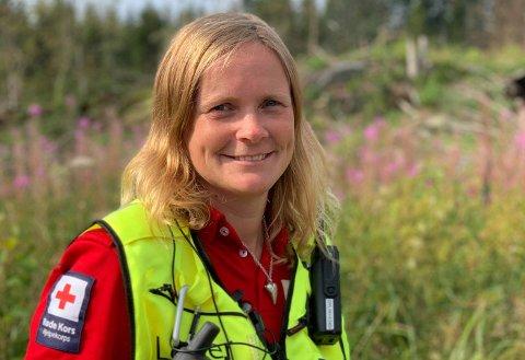Elin Fjellvang er områdeleiar for Røde Kors i Valdres.