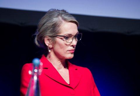 OVERGANG: Anita Krohn Traaseth får kritikk fra arbeidsrettsekspert for ikke å offentliggjøre navnet på selskapet hun skal begynne i.
