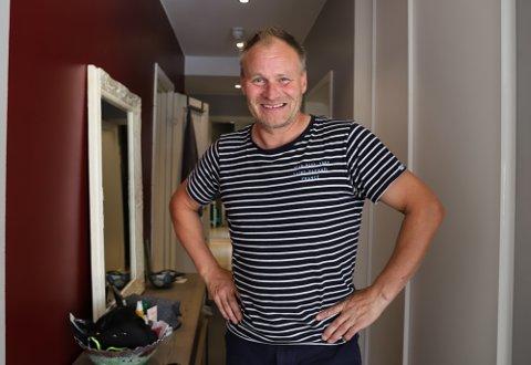 BILLIG I FROGN: Stein Roger Sollien (50) betaler mindre i kommunale avgifter enn gjennomsnittet i Norge.