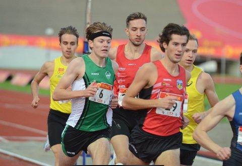 IMPONERTE: Ole Jacob Solbu imponerte da han løp seg inn til finale på 800 meter i sin NM-debut. Ås-gutten er finalens klart yngste.