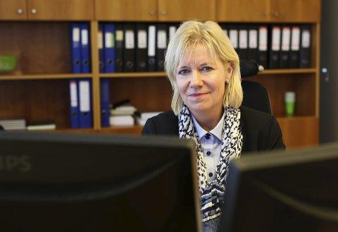 Banksjef i Østre Agder Sparebank, Nina Holte.