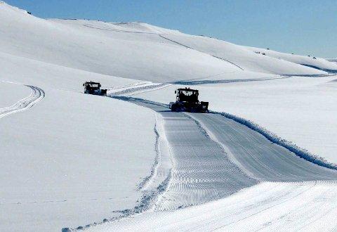 STRÅLENDE FORHOLD: Det var fine forhold under årets renn. Nå har Sesilåmi blitt del av Ski Classics .Foto SESILÅMI