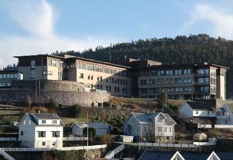 *** Local Caption *** Sørlandet sykehus Flekkefjord sykehuset