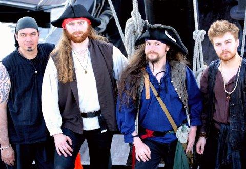 Det hollandske bandet Pyrates! lover kjølhaling av de som ikke synger med.