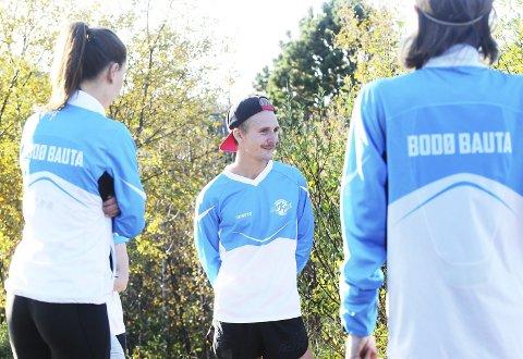 Sondre Skjelvik elsker løping, og gjennom Bodø Bauta får han spredd gleden til stadig flere.  Og sagt fra at han har mistet troen på uttøyning.