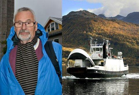 Øivind Mathisen, leder i Kjerringøy og Nordsia kommunedelsutvalg.
