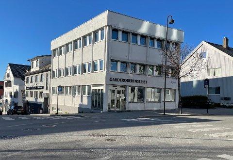 Havnegata 3 i Bodø er nå lagt ut for salg.