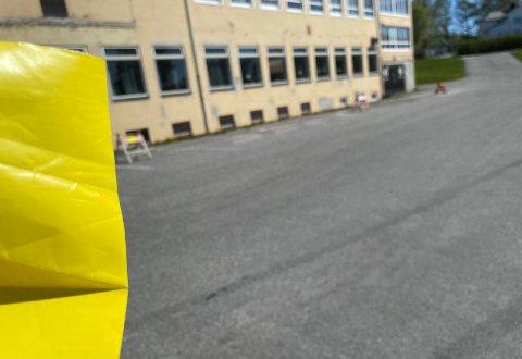 Fikk bot: Illustrasjonsbilde av boten som Bjørn Inge Gabrielsen mottok etter å ha parkert på sin egen eiendom, som her er avbildet.