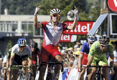 Norsk håp: Katjusja-rytter Alexander Kristoff har hatt en kanonsesong og kan vinne flere etapper i årets Tour de France.ARKIVFOTO: REUTERS