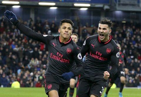 Arsenal og Alexis Sanchez har vist strålende form i de tre bsiste kampene.