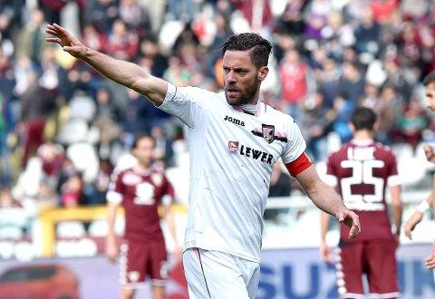 Palermo og Andrea Rispoli skal vinne hjemme mot Salernita.
