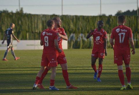 Brann slo Rosenborg 1-0 på Marbella Fotball Center søndag kveld.