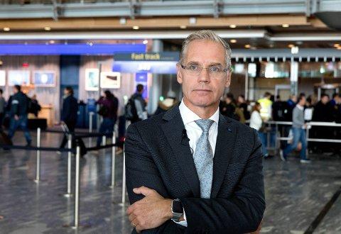SAS-sjef Rickard Gustafson. Foto: Gorm Kallestad (NTB scanpix)