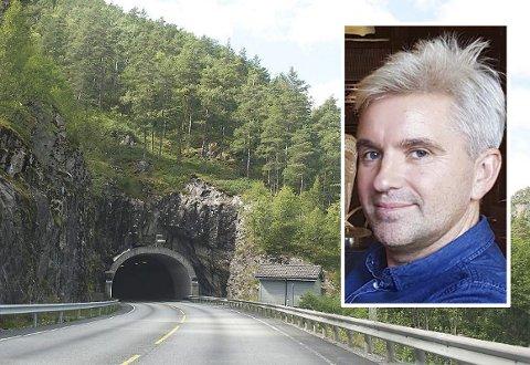 Et nytt planlagt tunnelarbeid betyr utrolige mengder steinmasse. – Det vil tilsvare fire Kheopspyramider eller 329 utgaver av Bergen rådhus, sier planlegger Olav Lofthus i Statens vegvesen.