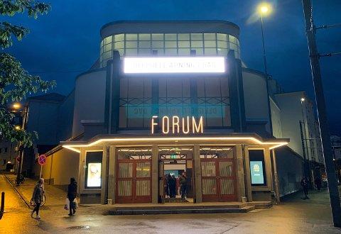 Forum hadde sin offisielle åpning torsdag. Denne helgen er det festival i bygget med en rekke kjente bergensband.