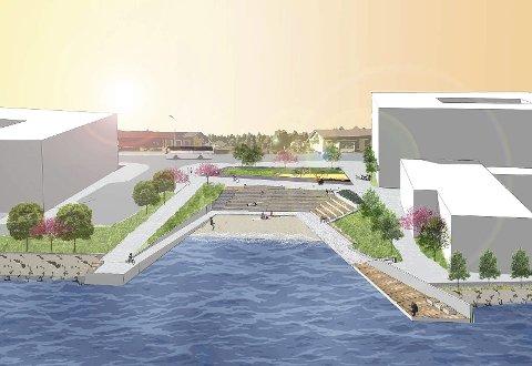 KOSTER FLESK: Allerede før byggearbeidene har startet opp, er det klart at Vikersund Nord kan bli 17,6 mill. dyrere enn først anslått.