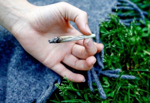 CANNABISBRUK: Ung Data-undersøkelsen viser at 3,9 prosent av ungdomsskoleelevene i Øvre Eiker prøvde hasj eller marihuana minst én gang i 2017.