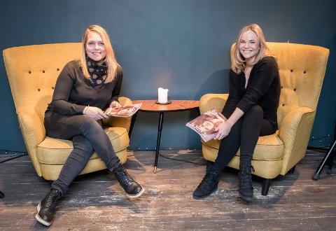 OPTIMISTER: Hanne Falch (t.v.) og Anniken Dahl Lefranc gleder seg til å slippe vårens program løs på drammenserne.
