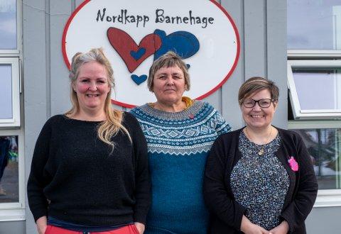 STYRERE: (F.v.) Kristin Olsen, Bente Floer og Merete Figenschou Mikalsen er ved godt mot til tross for det økende behovet.
