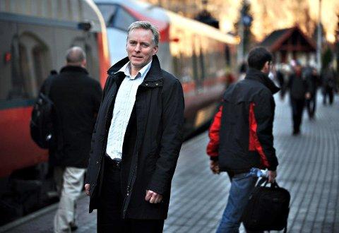 – Holder ruta: Terje Andersen i Vy mener togene stort sett er i rute, og Østfoldbanen lå i 2019 der den har ligget de siste årene.