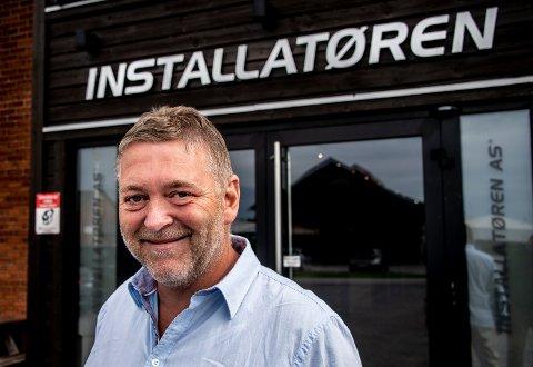 Suksess: Det er 30 år siden forløperen til Installatøren Fredrikstad ble etablert som Vesterøy Elektriske avd. Gressvik. Dagens styreleder Bjørn Viggo Nilsen har vært med nesten helt siden starten.