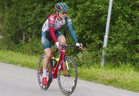 I NORGESCUP: Mathias Berg, ung syklist fra Narvik.