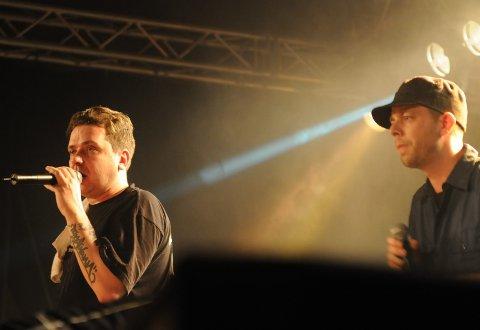 JODDSKI: Joddski spiller på Vinterfestuka for noen år siden.