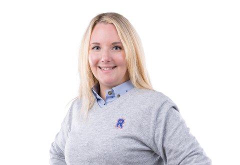FORSIKTIG: Rosita Nilsen driver Rema Rombaksveien.